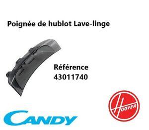 43011740  Poignée de hublot Lave-linge  CANDY, HOOVER