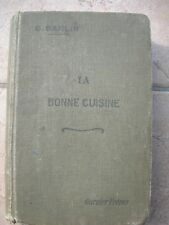 1 LA BUONA CUCINA RICETTE GASTRONOMIA DOLCI LIQUORI RICETTARIO MENU' RARO 1921