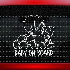 Baby On Board #1 Boy Cute Family Car Decal Window Vinyl Sticker (20 COLORS!)