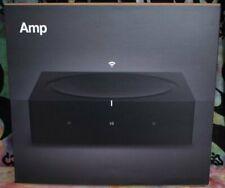 SONOS AMP Wireless Amplifier AMPG1US1BLK Streaming Streamer 125W per channel NEW