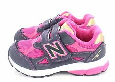 New Balance KV 990 J3P Running Shoe Pink Grey Gold Little Kid Size 3 XWide