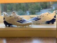 FU6707 Adidas Adizero Young King Glory Blue White Football Cleats Men's Sz 10