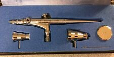New ListingIwata Hp Sb Airbrush Handpiece, Clean, Case, Two Paint Cups, 1980s