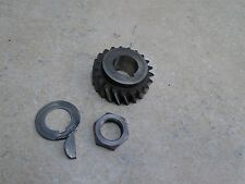 Suzuki 250 TS TS250 Used Engine Crank Clutch Gear 1972 SB61