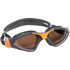 New listing New! Aqua Sphere Kayenne Goggles Polarized Lens, Gray/Orange Made in Italy