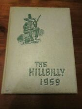 "1959 Lee H. Edwards High School ""The Hillbilly"" of Asheville, North Carolina"