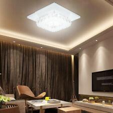 Modern Crystal LED Ceiling Light Flush Mount Pendant Lamp Chandelier Fixture