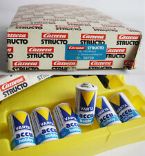 RARE VINTAGE 80'S CARRERA STRUCTO SLOT CAR CHARGER 98709 + VARTA BATTERY NEW MIB