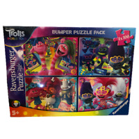 Trolls 2 World Tour Jigsaw Puzzle 4 Puzzles in a Box 05067 Ravensburger UNOPENED