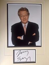 JERRY SPRINGER - TV CHAT SHOW HOST - SUPERB SIGNED COLOUR PHOTO DISPLAY