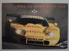 Marcos LM600 LE MANS AUTO DA CORSA ORIG 1997 UK Opuscolo Vendite Mkt opuscolo