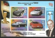 Senegal 1999 Italia '98 Automobiles #1346var imperf MS miniature sheet MNH