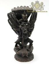Holzskulptur, Figur des Gottes Vishnu Indonesien - Bali 20. Jhr.