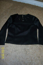Marks and Spencer Long Sleeve Semi Fitted Waist Length Women's Tops & Shirts
