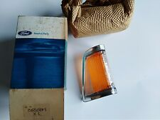 Ford Cortina Mk3 TC Front Indicator Lens RHS NOS. Genuine Clear-Amber TC.TD
