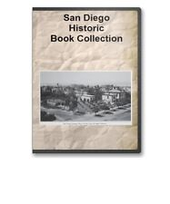 San Diego CA California History Pioneer Genealogy Expo Photos 14 Book Set CD D97