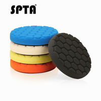 SPTA 6Inch Polishing Pads Buffing Pads Sponge Buffer Pads For Car Tool Polisher
