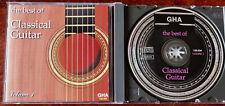 V/ARTISTS THE BEST OF CLASSICAL GUITAR VOLUME 1 CD GHA (2013) BELGIUM MINT CD