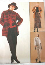 EASY skirt jacket wardrobe pattern sz 14 16 18 Casual