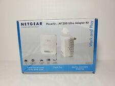 NETGEAR XAVB2001 Powerline AV 200 Wireless-N Extender Kit FREE SHIPPING