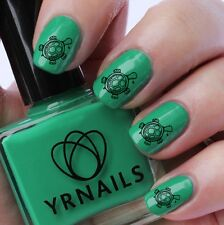 Nail WRAPS Nail Art Water Transfers Decals - Cute Turtle - S104