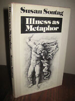 ILLNESS AS METAPHOR Susan Sontag CANCER 1st Edition First Printing Essays