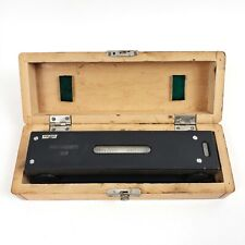 Vintage Vis 8 Machinist Precision Level 00005in 10in Withcase Made In Poland