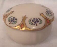 RS Prussia Art Deco Nouveau c1900 Porcelain Dresser Box RSG mark Tillowitz RARE!