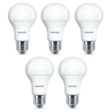 5x Philips LED Frosted E27 75w Warm White Edison Screw Light Bulbs Lamp 1055Lm