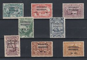 Portugal - Mozambique Nice Complete Set MH 3
