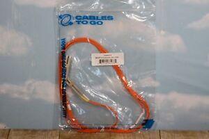 Cables To Go Duplex Multimode 62.5/125 PVC Fiber Optic Cable LC-LC 6ft C2G 33173