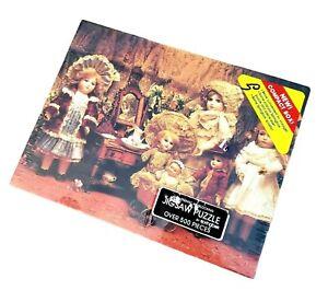Vintage Springbok Hallmark Puzzle - Fancy Frilly Dolls 500 Piece new in box