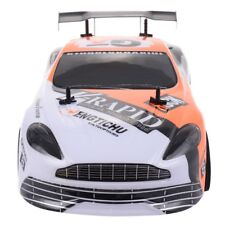 Orange 1:10 2.4G 4CH RC Super High-speed Drift Racing Car Radio Remote Control