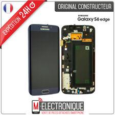 Ecran Original sur Chassis pour Samsung Galaxy S6 Edge G925f Noir