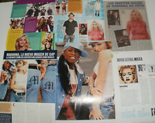 MADONNA LOT OF 33 CLIPPINGS IN SPANISH ARGENTINA ULTRA RARE