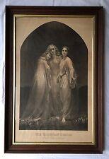 1876 THE CHRISTIAN GRACES FAITH HOPE CHARITY ENGRAVING NATIONAL ART COMPANY