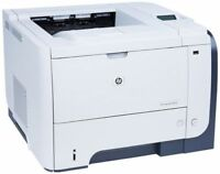 HP LASERJET ENTERPRISE P3015DN CE528A PRINTER REMANUFACTURED REFURBISH WARRANTY