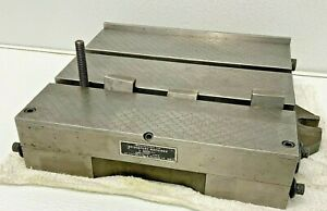 """Bridgeport 12""""x10"""" Combination Right  Angle Plate Sine Table A6B"""