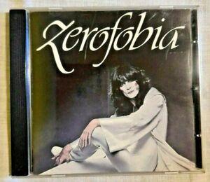 RENATO ZERO Zerofobia Musica Italiana Voci Maschili Italiane Pop CD