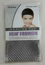 Wig Cap Mesh Weaving Breathable Stretchable Stocking Hair Liner Unisex Black 1#
