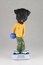Bowler Black Pug Interchangable Body See Breed & Bodies @ Ebay Store