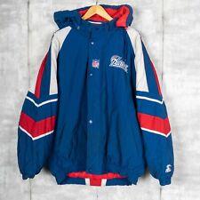 Pro Line Starter NFL New England Patriots Embroidered Vintage Jacket Size XL