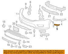 HONDA OEM 13-16 Accord Front Bumper-Side Support Bracket Left 71198T2AA01