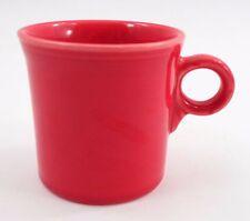 Clean EUC Homer Laughlin Fiesta Fiestaware Scarlet Red Loop Ring Handle Mug Cup