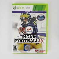 NCAA Football 14 (Xbox 360, 2013) Case And Inserts Only (NO DISC)