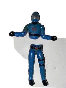 Cobra Commander Swivel Arm GI Joe Vintage Hasbro 1980's Action Figure Read Desc