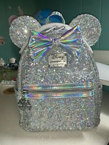 Loungefly LASR exclusive Holographic Mini Backpack