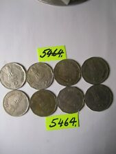 8 x two rupee  coins  INDIA     48   gms      Mar5464  CULLED