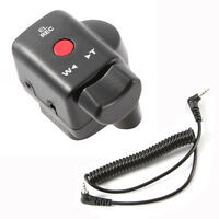 Camcorder Zoom Remote Control+2.5mm Jack Cable for Sony Panasonic Camcorder Lanc