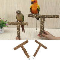 Bird Cage Perch Parrot Natural Perches for Medium And Large Size Parrots